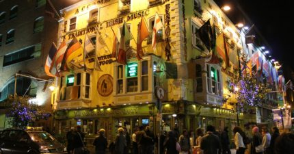 dublin night out