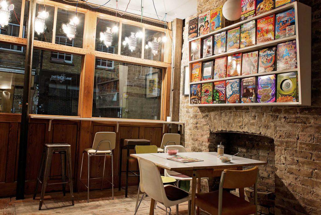 cereal killer cafe - dating in london
