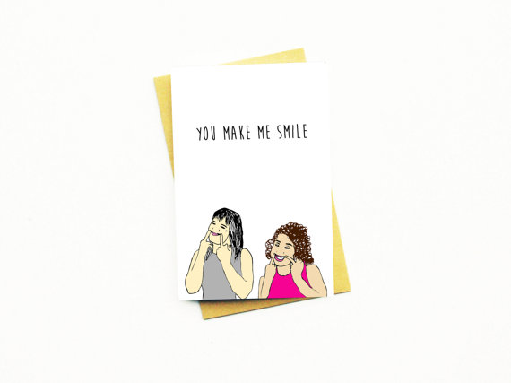 valentine's day card for single people - broad city