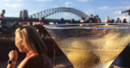 raising a glass to a first date restaurant in sydney