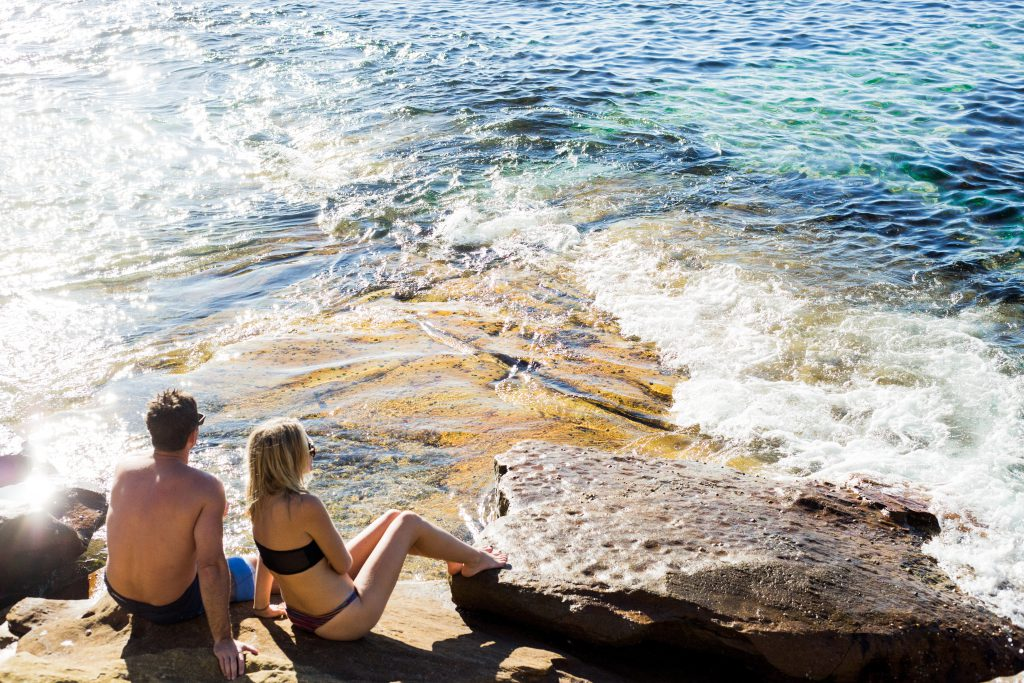 couples romantic holiday