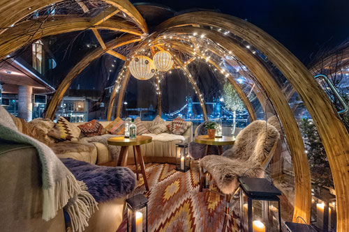 Festive Igloo First Date