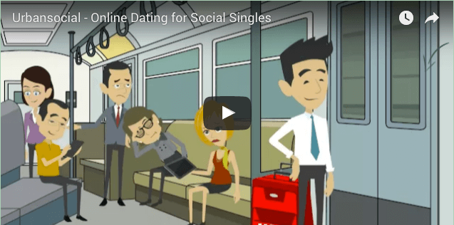 UrbanSocial - Online Dating for Social Singles Video